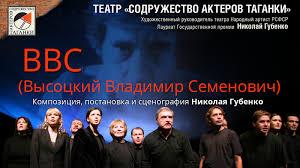 ВВС (<b>Высоцкий Владимир Семенович</b>) / Театр Содружество ...