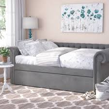 Queen Bed With Twin Trundle | Wayfair