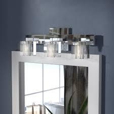 Contemporary vanity lighting Innovative Bolan Contemporary 3light Vanity Light Wayfair Bathroom Vanity Lighting