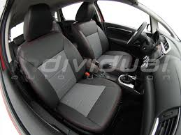 portofolio honda jazz collection rs design material1 rs design platin material3 leather look antracit car seat covers
