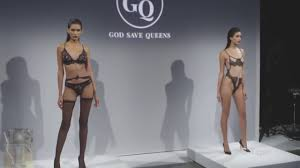 College girl lingerie fashion showvideo