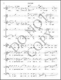 sheet music silent night silent night as performed by byu vocal point pdf sheet music