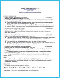 Critical Care Nurse Resume Critical Care Nursing Resume Emberskyme 19