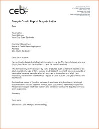Credit Letters Examples Letter Idea 2018