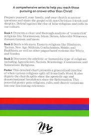 Zoroastrianism Vs Christianity Chart World Religions Cults Boxed Set