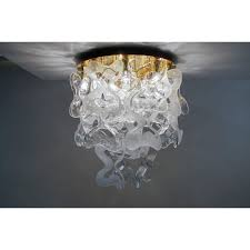 vintage flush mounted ceiling light by