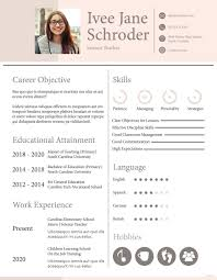 2020 Latest Cv Format Template Cv Resume Template Download Fresher School