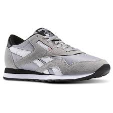 reebok classic shoes for men. reebok classic nylon tracksuit pack medium grey heather white black men leisure shoes hot sell l91 for r
