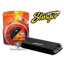 stinger car audio capacitors pkg stinger spc5010 10 farad capacitor 0 gauge amp wire kit amplifier cables