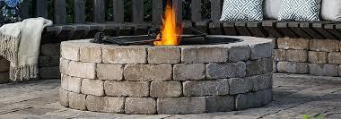 belgard fire pit kit brick fire pit belgard round fire pit kit