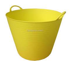 garden bucket. Plastic Flexible Tubtrugs,Flexible Bathing Basin,Garden Bucket Garden