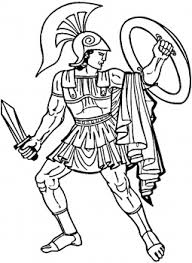 Small Picture Greek Warrior This site has many different coloring pages for
