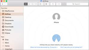 How To Transfer Files From Iphone To Mac Without Itunes