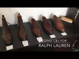 Ralph Lauren Crockett Jones Sizing Uk Vs Us Sizes Width Measured Comparision To Alden And Ae