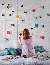 How To Hang Up Fairy Lights In Your Bedroom Bedroom Fairy Light Ideas In 2020 Girl Room Teenage Girl