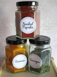Round Spice Jar Labels Spice Jar Labels Herb Labels Kitchen