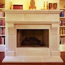 cambridge cast stone fireplace mantel