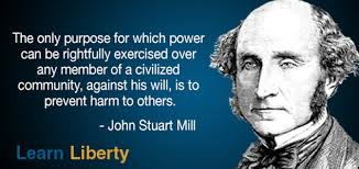 Liberty Quotes Interesting Learn Liberty Quote Of The Day Mill's Harm Principle