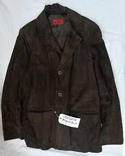 sony jacket. mission leather company md suede jacket-robert langdon,from sony wardrobe no coa jacket