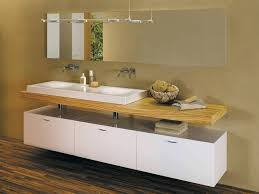 Holz Badezimmer Unterschrank Hangend Avec Hängend Et Holz Badezimmer
