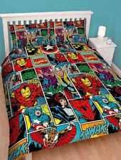Marvel Quilt Covers | eBay & MARVEL AVENGERS, DOONA, DUVET, QUILT COVER SET (UK DOUBLE FITS MOST AU Adamdwight.com