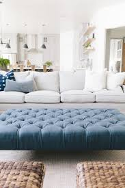 blue velvet ottoman coffee table collection mapleton new build living room house of jade interiors