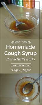 some people love this homemade cough syrup some people it but either way