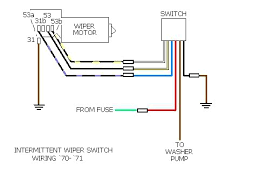 how to wire generic 2 speed wiper switch shoptalkforums com and lastly to a `72 `79 motor the park circuit is different on cars the steering column mounted stock switch but wired like this it ll work