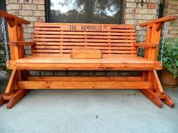 outdoor glider rocker. Garden Glider Outdoor Bench Chair Rocker For Two