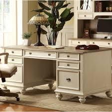 white home office desks. Riverside Furniture Coventry Two Tone Executive Desk White Home Office Desks M