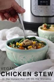 vegan en stew in the instant pot