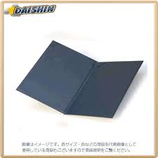 collect signed certificate holder cloth leather a4 size navy blue 74042 f