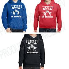 Details About Floss Like A Boss Hoodie Backpack Kid Dance Sweatshirt