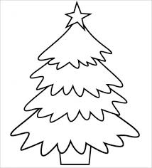 Spruce Tree Coloring Pages