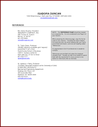 Example Of Reference Page For Resume Resume For Your Job Application