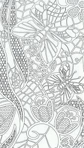 Butterfly Flower Coloring Colouring Printable Adult