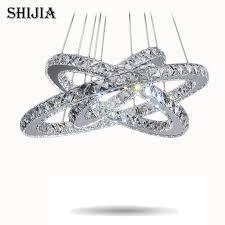 cheap contemporary lighting. hot sale diamond ring led crystal chandelier light modern lighting circles lamp 100 guarantee cheap contemporary