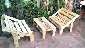 garden furniture with pallets. Outdoor Furniture With Pallets How To Build Patio Garden Wooden Pallet E