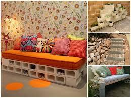 concrete block furniture. Concrete Block Furniture E