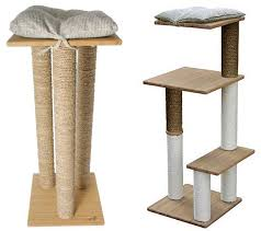 chic cat furniture. The Boo Range Of Stylish Modern Cat Trees, By Martin Sellier Made From Bamboo Chic Furniture