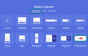 youtube channel banners how to design a youtube channel art bannersnack
