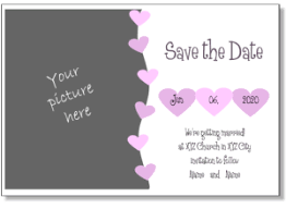 Free Save The Date Birthday Templates Diy Free Printable Save The Date Wedding Save The Date