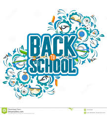 Back To School Invitation Template Back To School Color Background With Tree Stock Vector