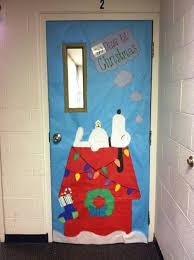 Peanut Christmas classroom door decoration by Mrs.