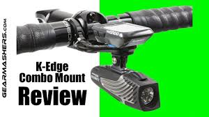 Wahoo Light Mount K Edge Combo Mount Review 2018 Best Cycling Accessory