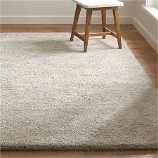 Shag rugs Crate And Barrel Parker Neutral Wool Shag Rug Crate And Barrel