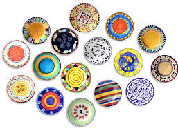 decorative ceramic wall plates decorating ideas intended for 4