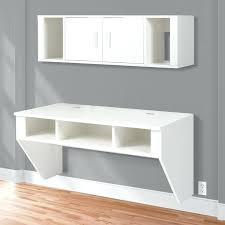 computer shelf wall mount designer floating desk with hutch white finish wall mounted computer desk computer computer shelf wall