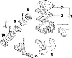 parts com® chevrolet bu air intake oem parts 1999 chevrolet bu ls v6 3 1 liter gas air intake