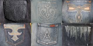 Pocket Jeans Design Unlikely Ginger Jeans Back Pocket Design Inspiration